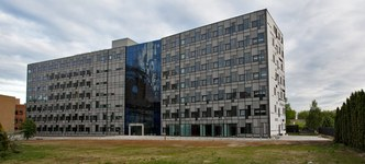The seat of the Institute of Fundamental Technological Research of the Polish Academy of Sciences in